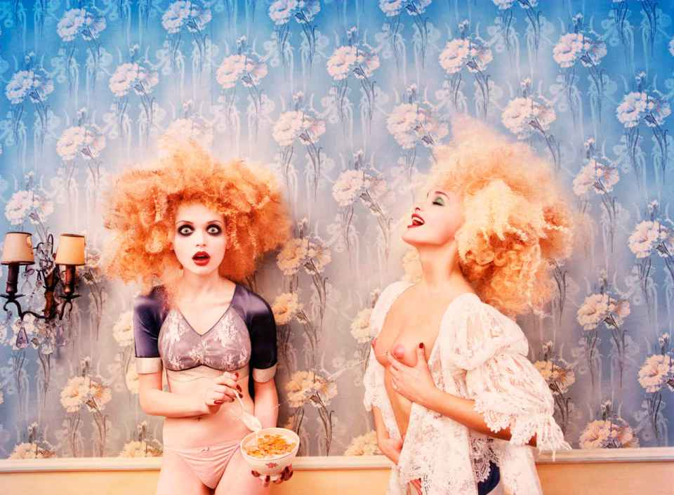 David LaChapelle, Milk Maidens GALEROE DANIEL TEMPLON