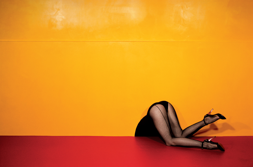 Guy Bourdin, Charles Jourdan advertisement (1979)