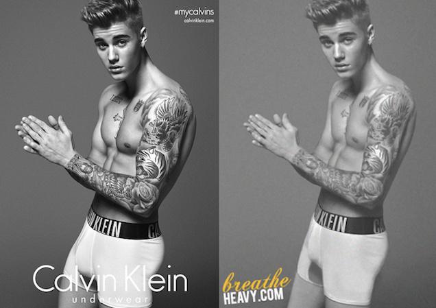 Bieber-compare