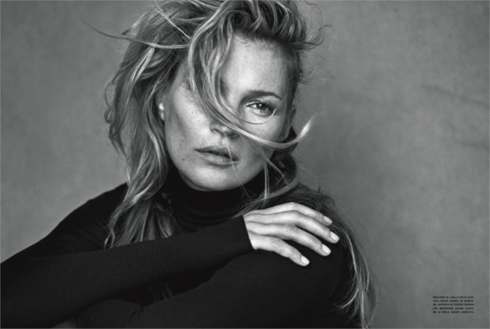 Kate Moss Peter Lindbergh Vogue Italia 2